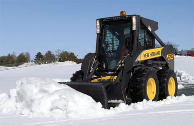 Уборка снега в Архангельске