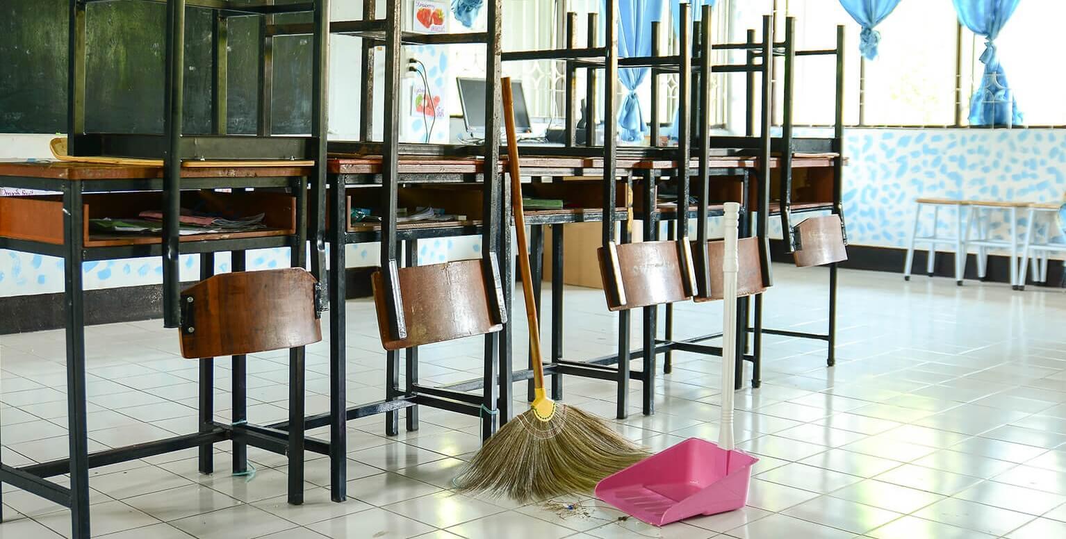 Уборка в школах и дет. садах